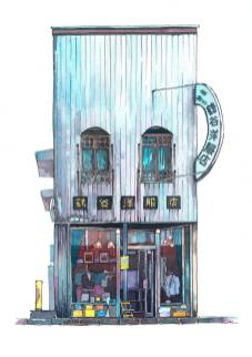 Magnificent-Illustrations-of-Tokyo-by-Mateusz-Urbanowicz5-900x1276