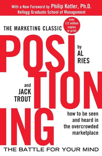 Wewa Films   Cover of book Positioning by Al Ries and Jack Trout