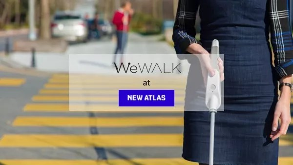 WeWALK & New Atlas