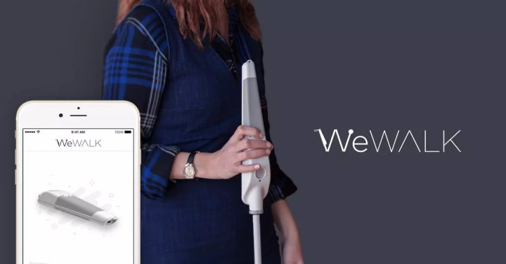 WeWALK smart cane improves safety & access for the blind