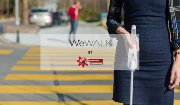 White Canes For The Blind Have Been Reinvented With WeWALK Smart Cane
