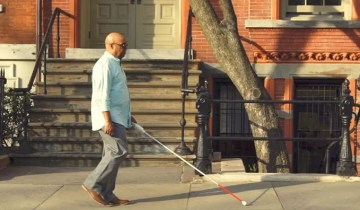 Mashable – This smart cane seeks to help the blind, low-vision communities — Future Blink
