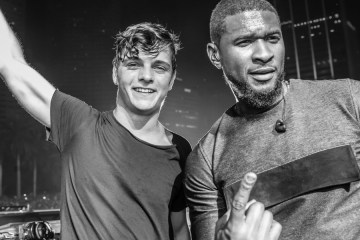 martin garrix and usher