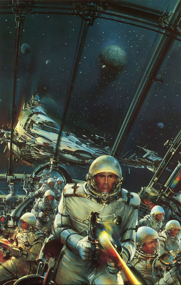 Space Classics 1/3 – John Berkey | WeWasteTime