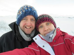 -13 so we had to be fast with the selfie!