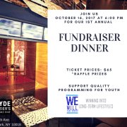 We W.I.L.L. Thru Sports Fall Fundraiser Dinner
