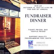We W.I.L.L. Thru Sports Fall Fundraiser Dinner