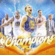 Golden State Warriors Sweep Cavaliers