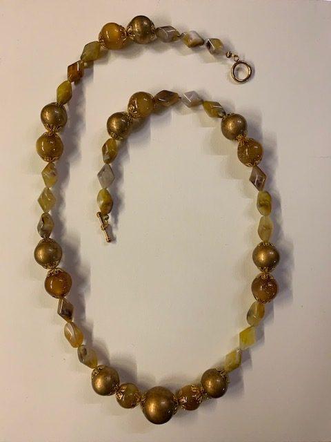 Santa Fe Gold Necklace