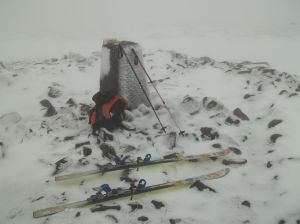 Skis at the Summit