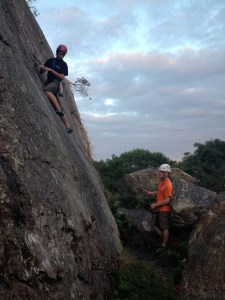 Some of our trainee insturctors from Shielbaggan OEC who help out on some Wed climbing evenings.