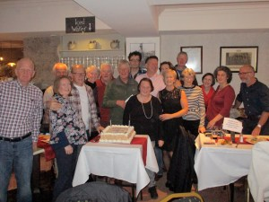 Club members from the early years, many still current members.