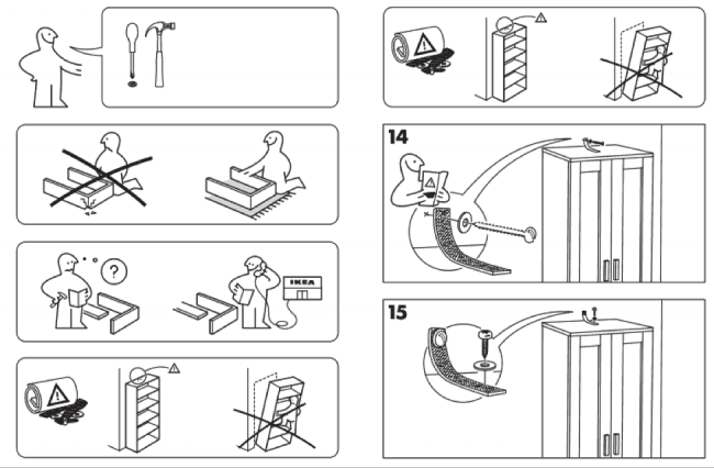 de montage d un meuble ikea wexperience