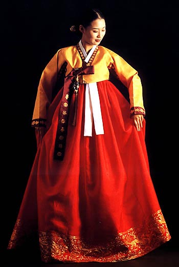 Traditional Dresses Models Photos Korean Traditional Dress