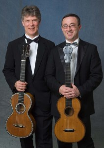 Chamber Music Concert Series at Weymouth Center with two classical guitarists