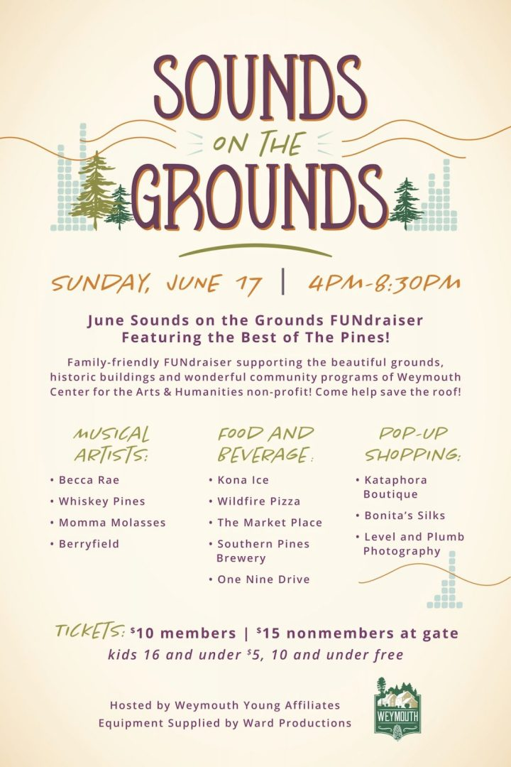 Sounds on the Grounds updated poster