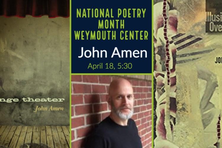 John Amen plus book covers