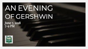 An Evening of Gershwin Favorites @ Weymouth Center for the Arts & Humanities | Southern Pines | North Carolina | United States