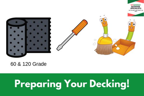 Preparing Your Decking