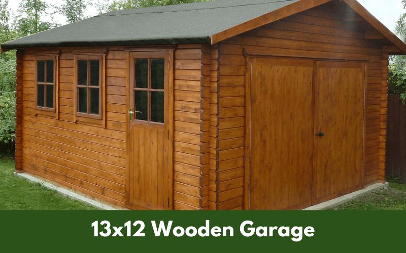 13x12 Wooden Garage