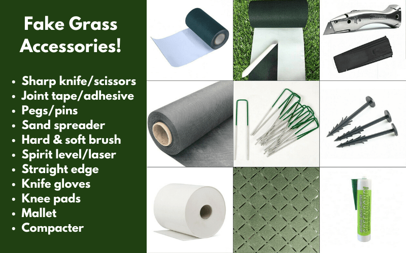 Fake Grass Accessories