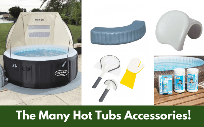 The Many Lay Z Spa Accessories