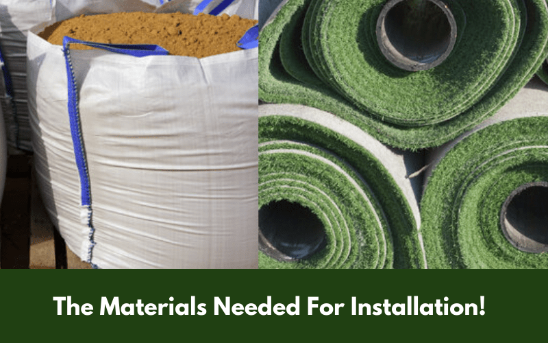 The Materials Needed For Installation!