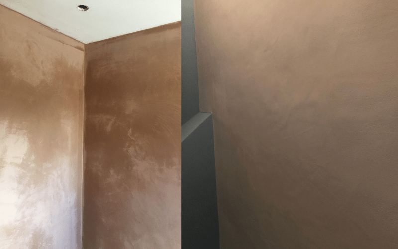 Freshly Plastered Walls