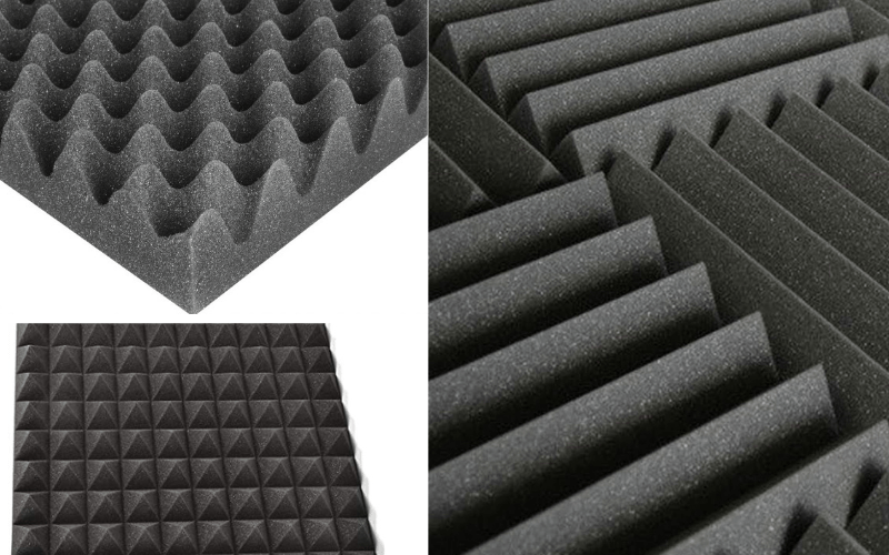 Cover Walls In Acoustic Foam