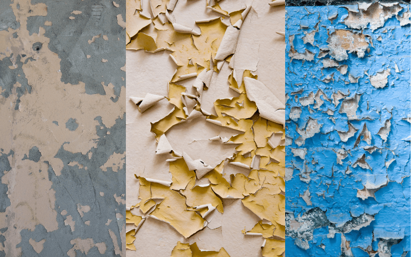 Flaking Paint Examples
