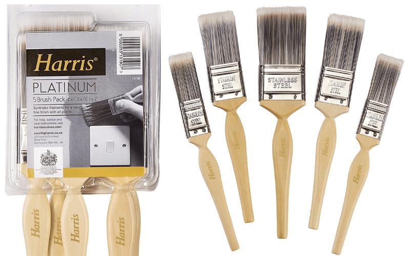 The Harris Platinum Paintbrushes