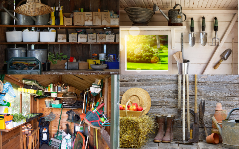 Organize Your Garden Shed - Example