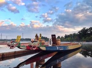 Dragon Boat Mercer County Race, 2015