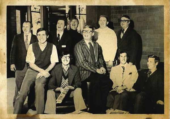 Prior to the Young Farmer and Agriculturist Program, WFBF had a Young Farmer Committee. Pictured is the 1974 Young Farmers Committee.