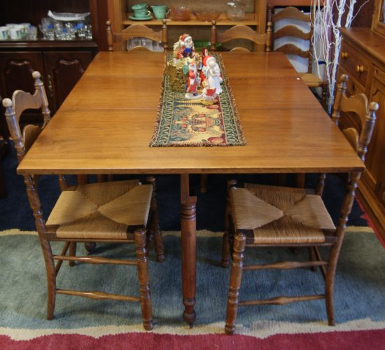 Antique Drop Leaf Table And Chairs Westside Furniture Consignment