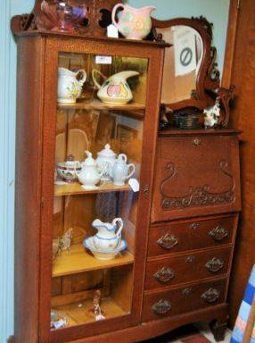 Antique Secretary Cabinet