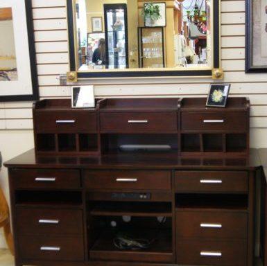 4 Piece Desk With Hutch Set