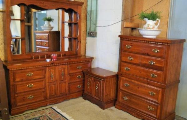 Full Dresser With Mirror-Chest and Night Stand Sold Separate