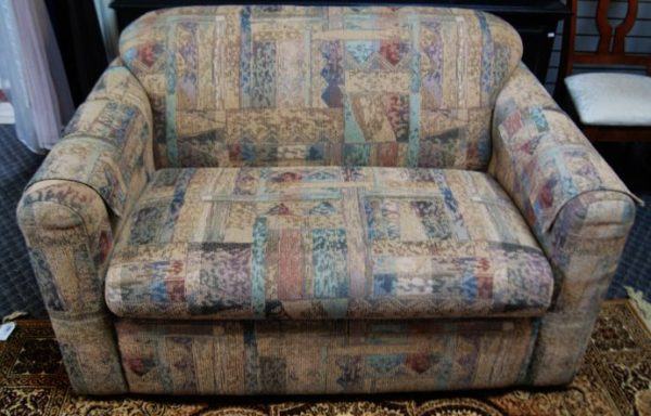 Love Seat with Pull out Bed