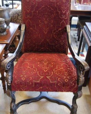 Ornate Arm Chair