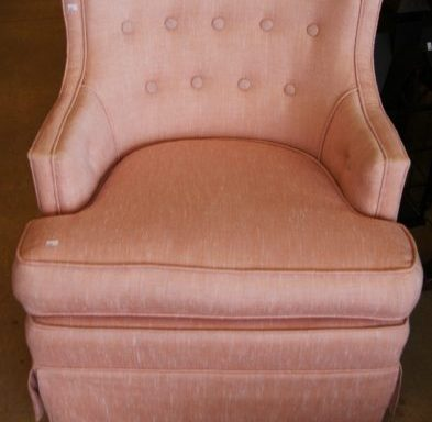 Tufted Ladies Rocking Chair