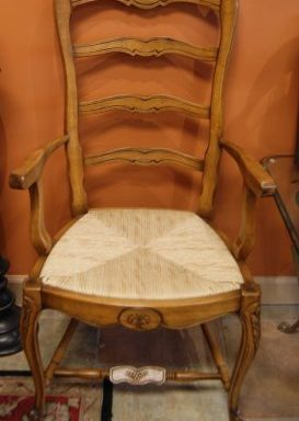 8 Ladder Back Dining Room Chairs Priced Separate
