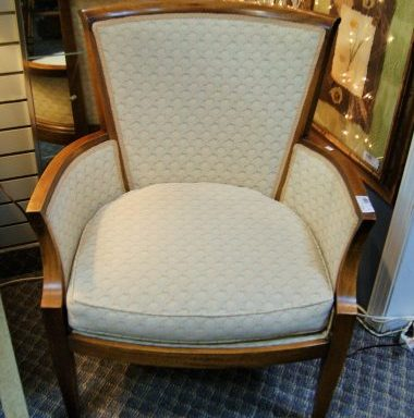 Vintage Side Arm Chair