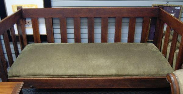 Antique Mission Sofa Couch