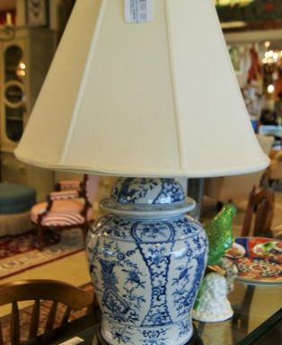 2-Chinoisserie Ginger Jar Table Lamps Priced Separate