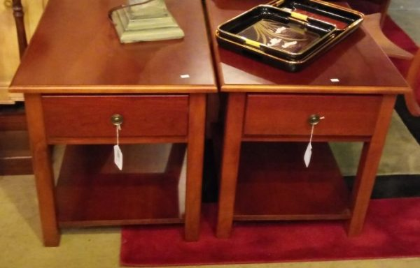 2-End Tables Priced Separate