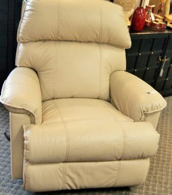 Leather Rocking  Reclining Arm Chair