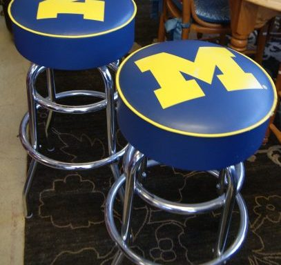 2-University Bar Stools Priced Separate