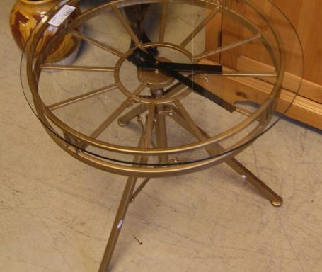 Clock Side Table