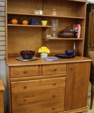 Dresser-Hutch-Night Stand  Priced Separate